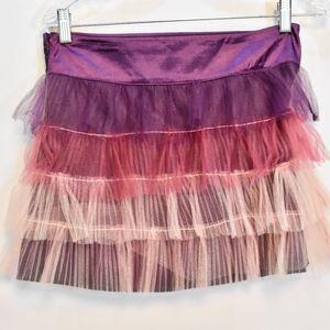 Girls Trac Purple Tutu Skirt L
